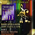 Fall 2013 Showcase flyer